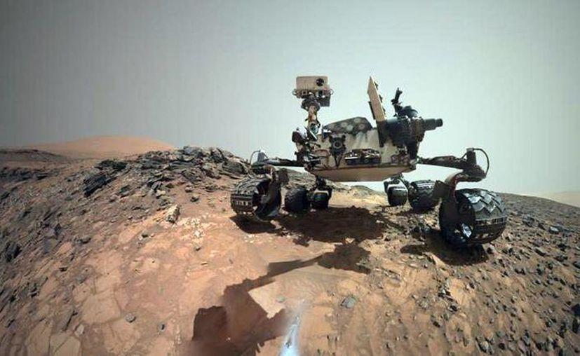 Esta misión es la primera dedicada a la investigación del interior más profundo del planeta. Imagen de una zona de Marte tomada desde el Curiosity. (www.nasa.gov)