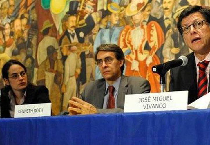 El titular de HRW para las Américas, José Manuel Vivanco, criticó los pocos avances en derechos humanos en la gestión de Peña Nieto.(Michael Mayzel/Human Rights Watch)