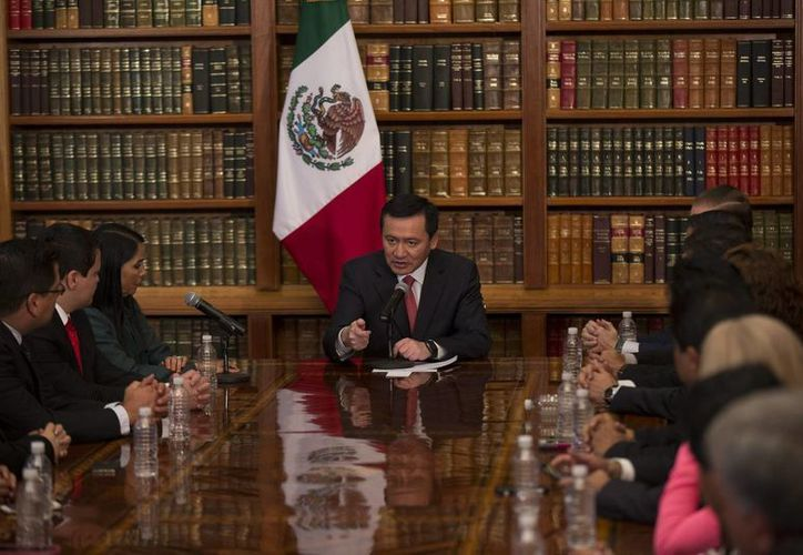 Osorio Chong asegura que en la primera mitad de este sexenio fue detenida la mayoría de los líderes del narcotráfico en el país. (Archivo/Notimex)