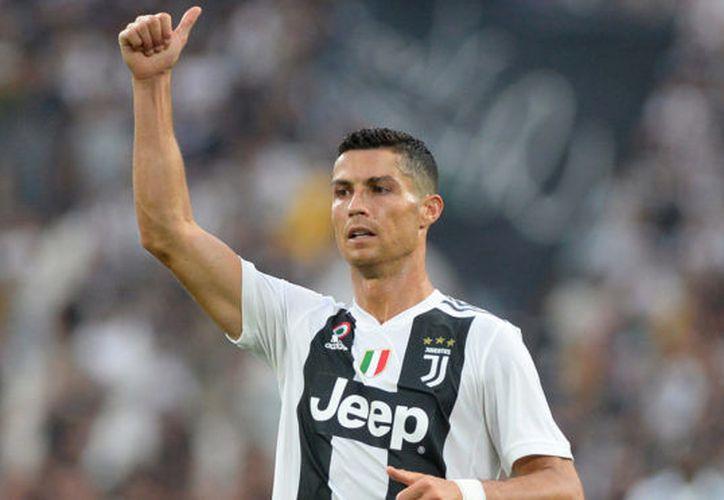 Cristiano Ronaldo estuvo encorsetado en la defensa romana. (Reuters)