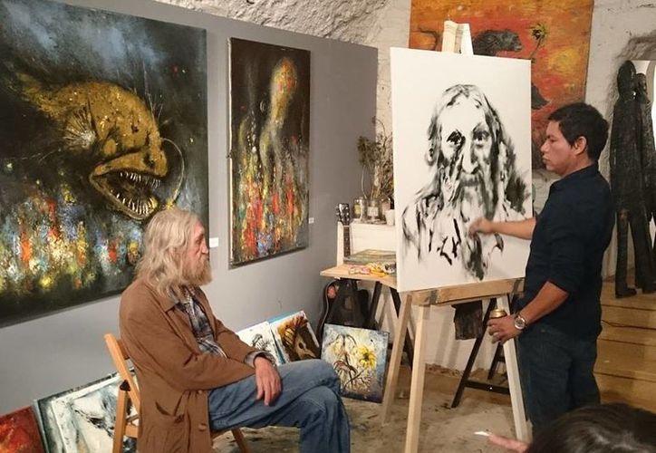 Ha trabajado en proyectos artísticos para la defensa del humanismo. (Alejandra Flores/ SIPSE)