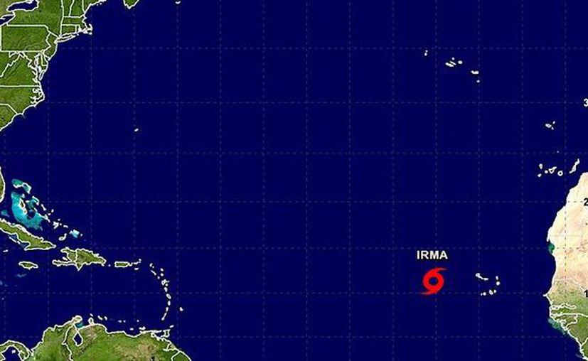 La tormenta tropical Harvey continúa su camino sobre el suroeste del estado de Luisiana dejando a su paso intensas lluvias. (NOAA)
