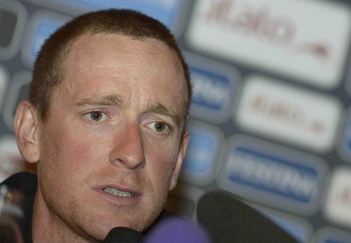 El inglés Bradley Wiggins intentará lograr el doblete Giro de Italia-Tour de Francia. (Agencias)