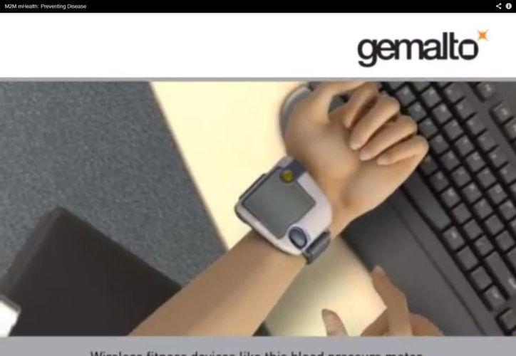 El aparato envía la señal a una terminal remota. (Captura de pantalla)