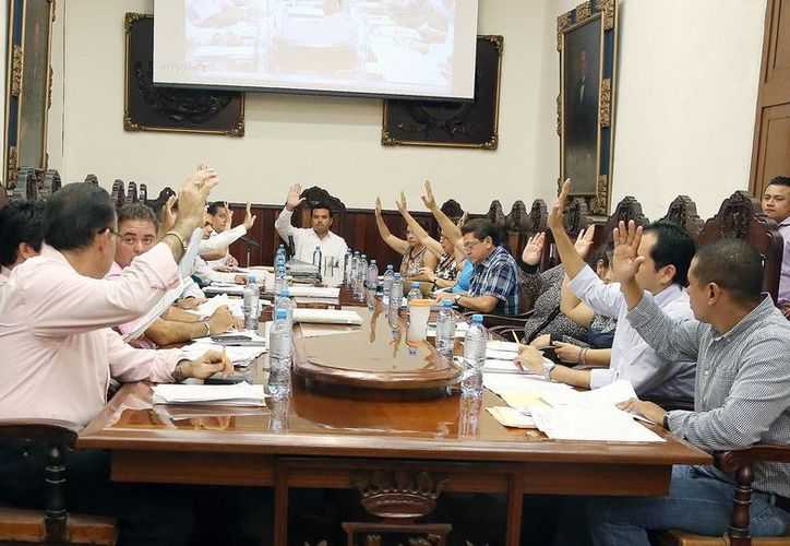 El Cabildo aprobó también el rescate de los espacios públicos. (SIPSE)