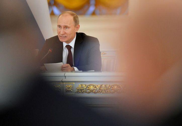 Hace unos meses Putin se lesionó una de sus vértebras cuando practicaba  judo. (EFE)