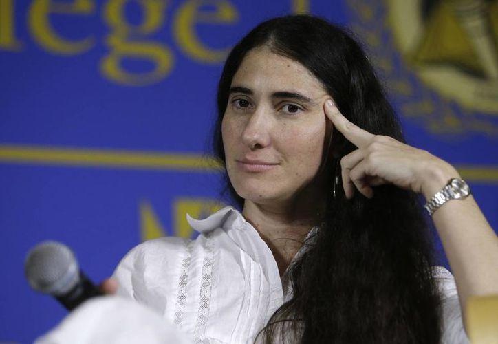 Yoani Sánchez obtuvo en 2008 el premio español Ortega y Gasset en la categoría digital. (Agencias)