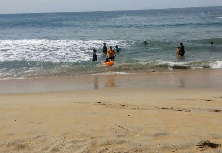 Pidieron a la embarcaciones y prestadores de servicios turísticos extremar precauciones. (Twitter: Protección Civil)