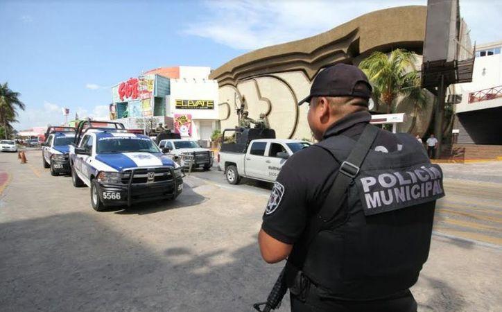 Se reforzará la vigilancia en centros de diversión del corredor turístico de las avenidas principales de Cancún. (Redacción/ SIPSE)