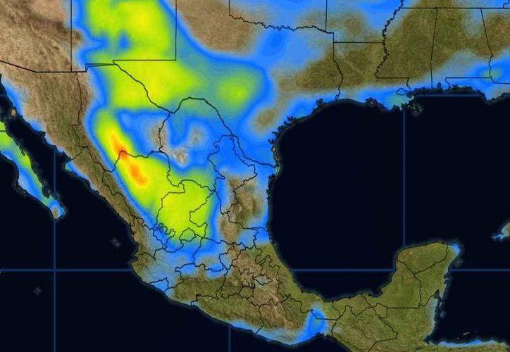 Los vientos oscilarán en los 22 kilómetros por hora en Cancún. (Conagua)