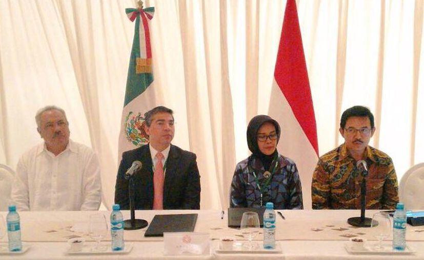 La firma de la reforma se llevó a cabo con la SEDE y las autoridades de Indonesia. (Redacción/SIPSE)