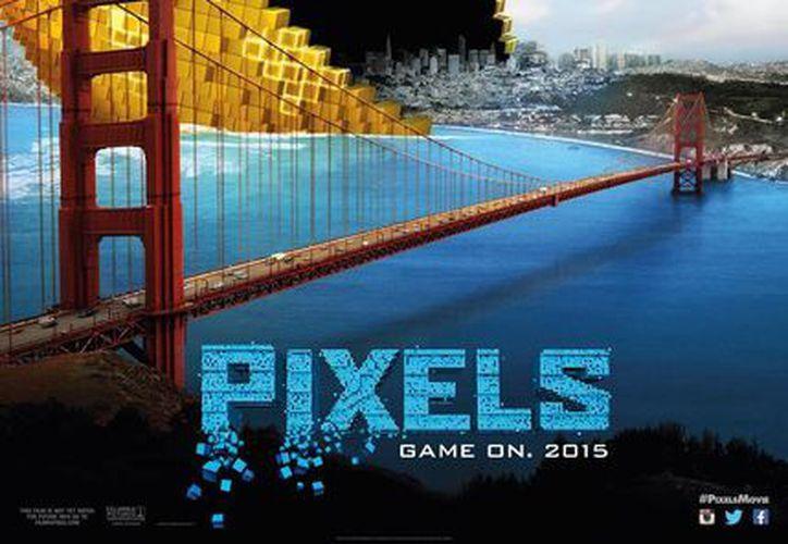 La cinta Pixels recaudó 97 millones 608 mil 596 pesos, con un aforo de dos millones 155 mil 187 personas. (Agencias)