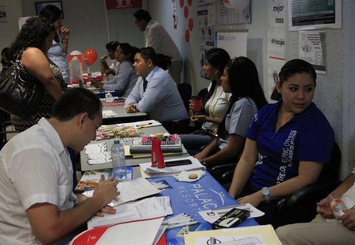 En el evento participaron 76 empresas de la entidad. (Tomás Álvarez/SIPSE)