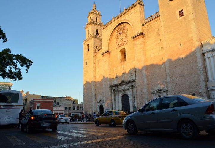 La S.I. Catedral, una joya arquitectónica. (Theany Ruz/SIPSE)