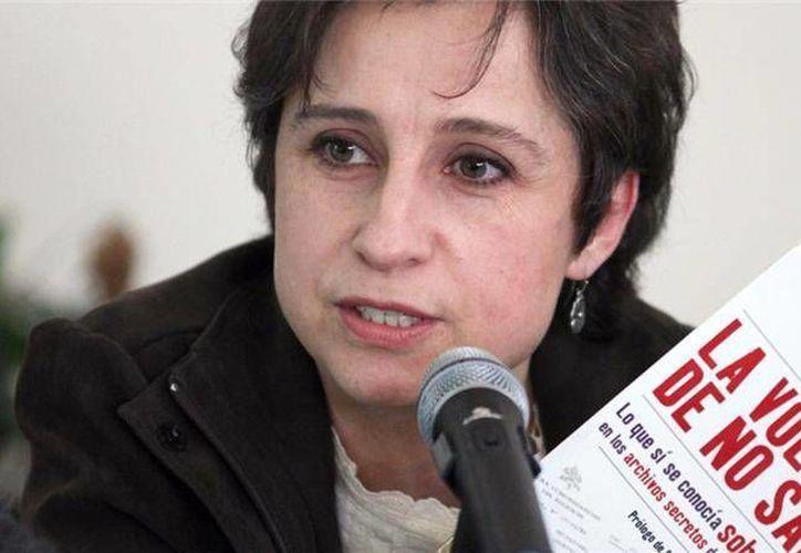 El despido de Carmen Aristegui de MVS Radio reavivó el debate sobre la libertad de expresión en México. (Archivo/AP)