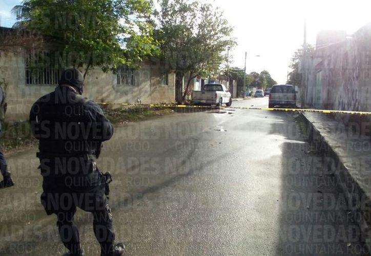 El hombre recibió cuatro impactos de bala. (Eric Galindo/SIPSE)