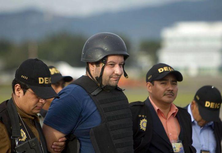 Roberto Barreda de León a su llegada a Guatemala. (Archivo/EFE)