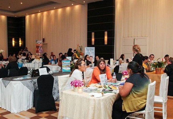 El evento México Romántico reunió a 30 de los principales agentes de viajes y organizadores especializados en turismo de bodas. (Cortesía/SIPSE)