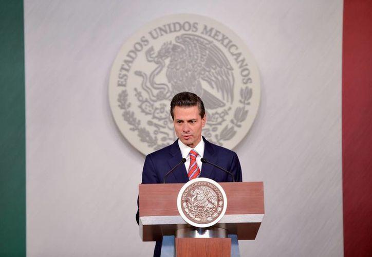 Peña Nieto destacó la 'buena noticia' del Inegi: la cifra histórica de inflación registrada en México en los últimos 45 años. (Archivo/Notimex)