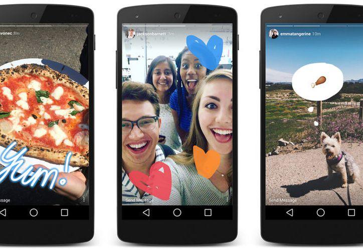Instagram Stories agregó nuevas herramientas, como stickers de selfies. (Foto: Contexto/Internet)