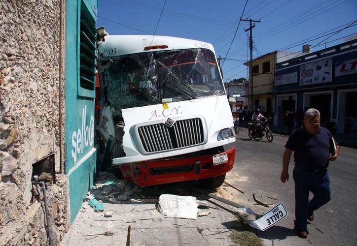 En Yucatán los infartos al corazón han afectado a varios choferes de autobús. (SIPSE/Archivo)