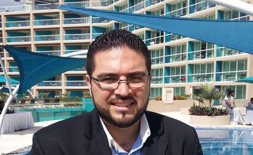 El director general del World Meeting Forum (WMF), Rafael Hernández Gómez. (Archivo/SIPSE)