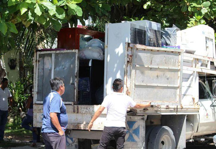 Preparan desalojos de casas que fueron invadidas. (Octavio Martínez/SIPSE)
