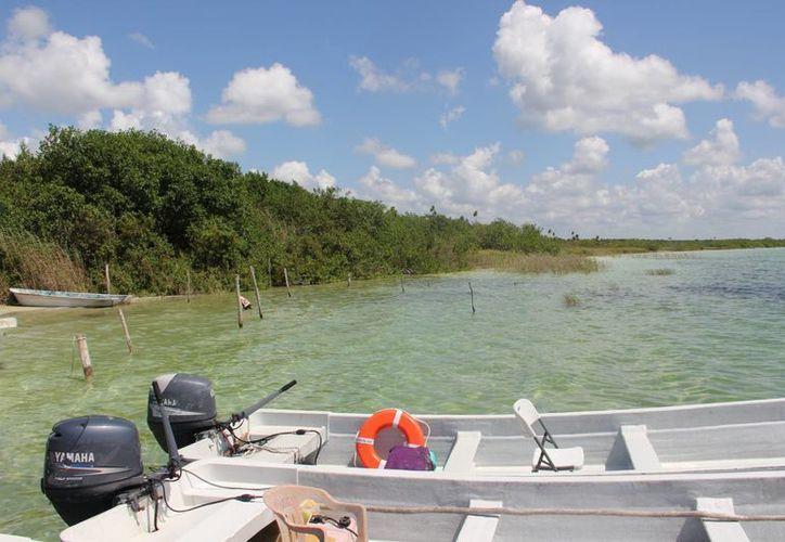 Turistas estadounidenses y europeos demandan los recorridos en lanchas por la laguna de Muyil. (Rossy López/SIPSE)