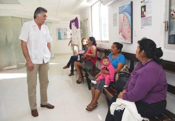 El nosocomio de Chetumal atiende a más de mil 322 personas al día. (Cortesía)