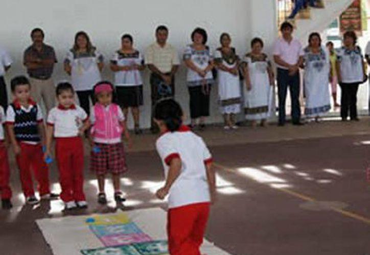 Niños juegan chácara. (SIPSE)