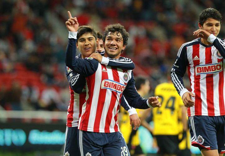 Guadalajara gana como visitante por primera vez, al año cumplido desde que venció a Tigres en el estadio Universitario de Monterrey. (Archivo Notimex)