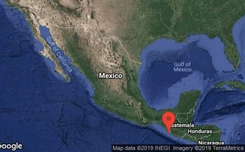 Sismo de magnitud 6.6 sacude Chiapas