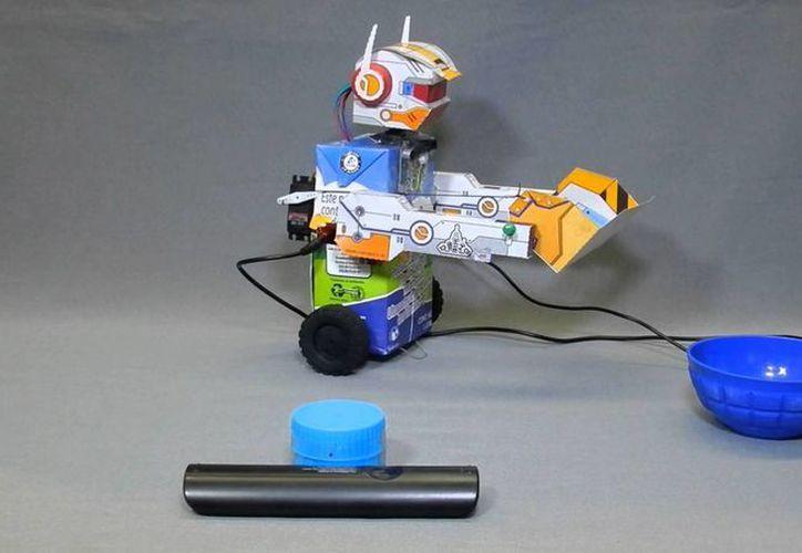 Se construirán los robots con materiales reutilizables. (Israel Leal/SIPSE)