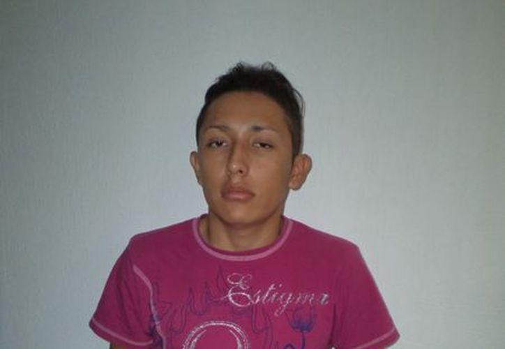 El presunto mini narco fue consignado a las autoridades. (Redacción/SIPSE)
