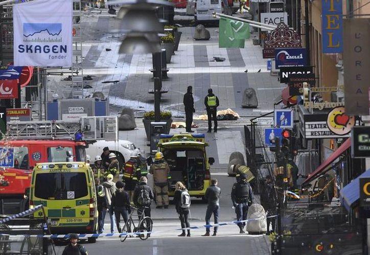 Un sospechoso fue detenido a las afueras de Estocolmo. (TN.com)