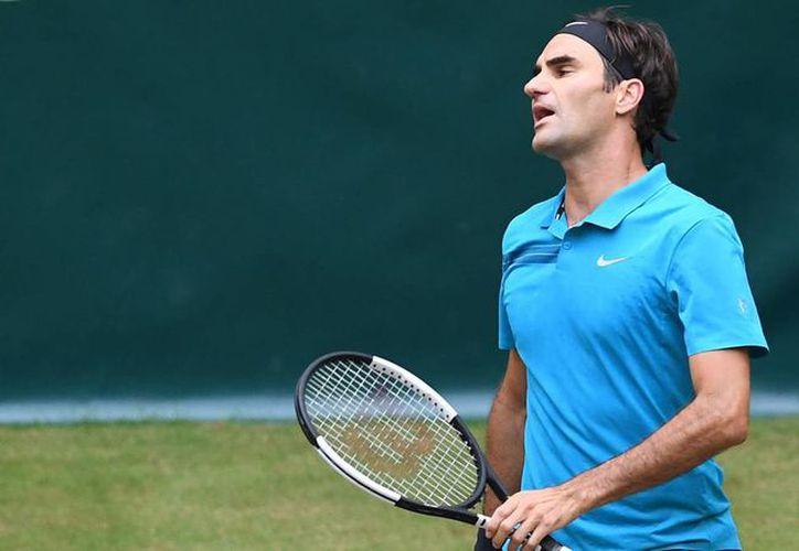 A pesar del descalabro, Roger Federer será el primer preclasificado en Wimbledon. (Internet)
