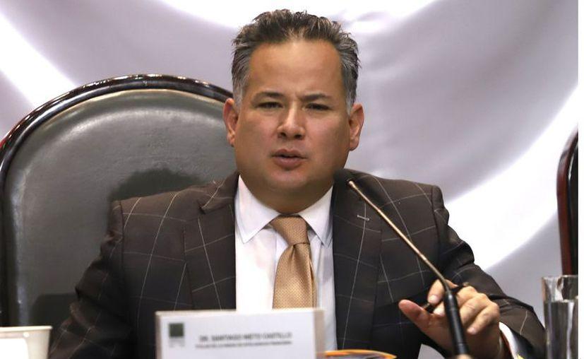 La nueva normalidad que se instalará en el país tras el desconfinamiento traerá un incremento en la violencia y en la comisión de cierto tipo de delitos, advirtió Santiago Nieto, titular de la Unidad de Inteligencia Financiera (UIF). (Agencia Reforma)