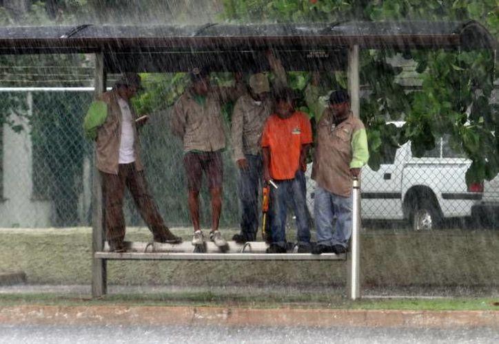 Se esperan lluvias en al menos 18 estados del país. (SIPSE/Foto de contexto)