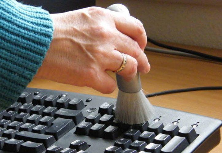 Las bacterias estreptococos y estafilococos son las bacterias que más permanecen en los teclados. (Foto; Contexto/Internet).
