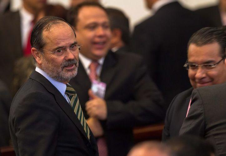 Dirigente nacional, Gustavo Madero. (Archivo SIPSE)
