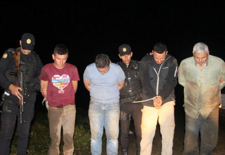 La captura ocurrió en el departamento de El Petén, a unos 382 kilómetros de la capital guatemalteca. (Foto: Prensa Libre)