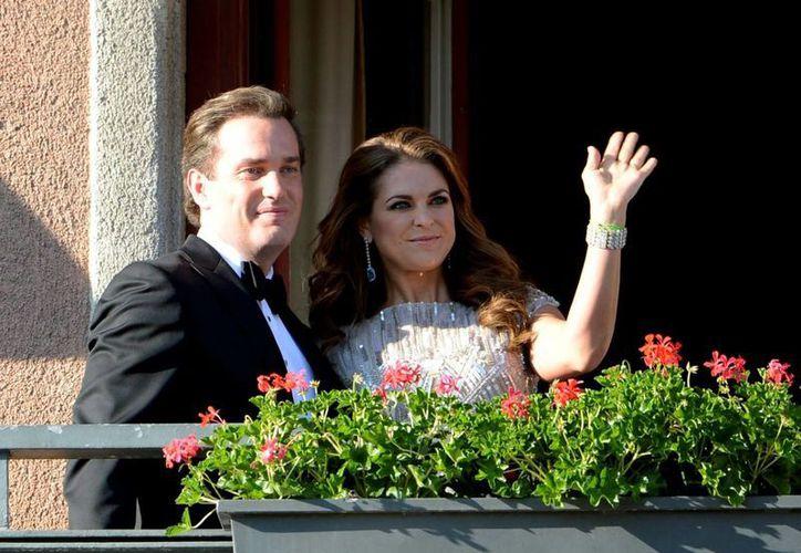 Madeleine ocupa el cuarto lugar en la línea de sucesión al trono sueco. (Agencias)