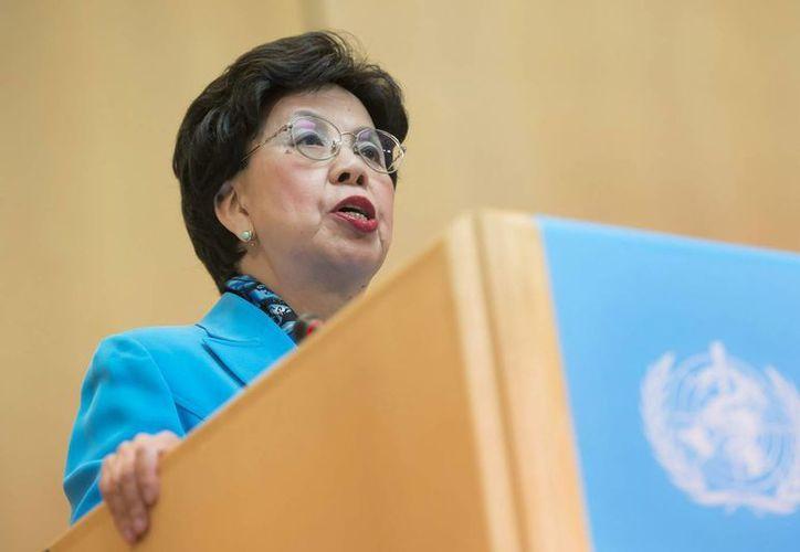La directora general de la Organización Mundial de la Salud (OMS), la china Margaret Chan. (Archivo/Archivo)