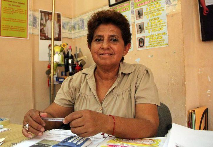 Nelly Concepción Cantón Méndez nunca se imaginó que su carrera cambiaría en un momento a otro y para siempre. (José Acosta/SIPSE)