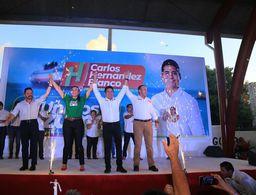 Seré la voz de todos, de un Cozumel unido: Carlos Hernández Blanco