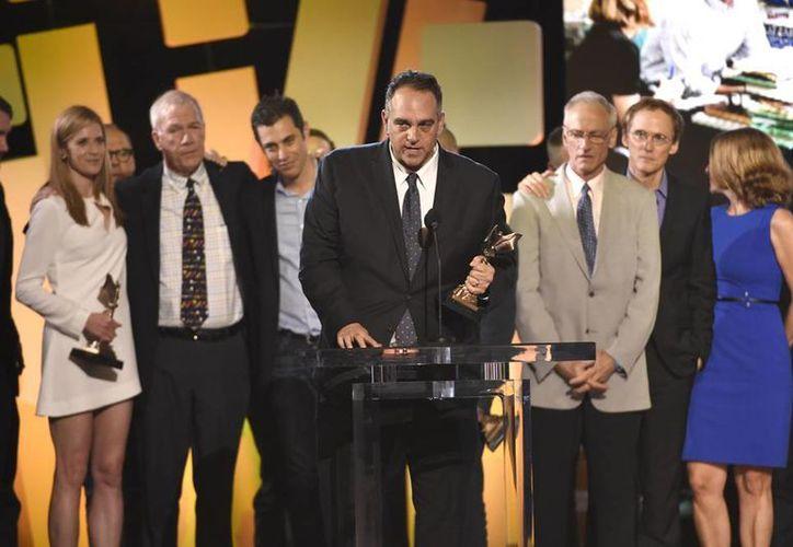 Los actores y la producción de 'Spotlight', película que se llevó la noche en los Premios Spirit 2016, que reconocen a lo mejor del cine independiente. (AP)