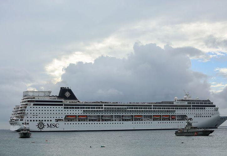 Los cruceros darían vida al proyecto de home port. (Contexto/Internet)