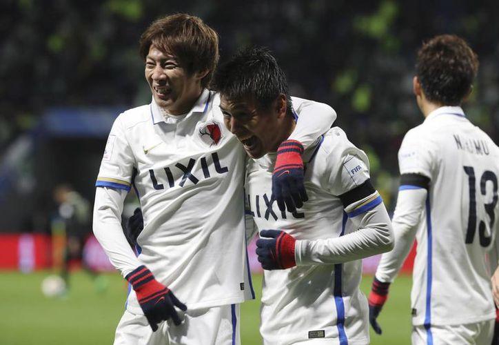 El Kashima Antlers, campeón de Japón, dio la campanada del torneo tras derrotar 3-0 al Atlético Nacional, campeón de la Libertadores. Eugene Hoshiko/AP)