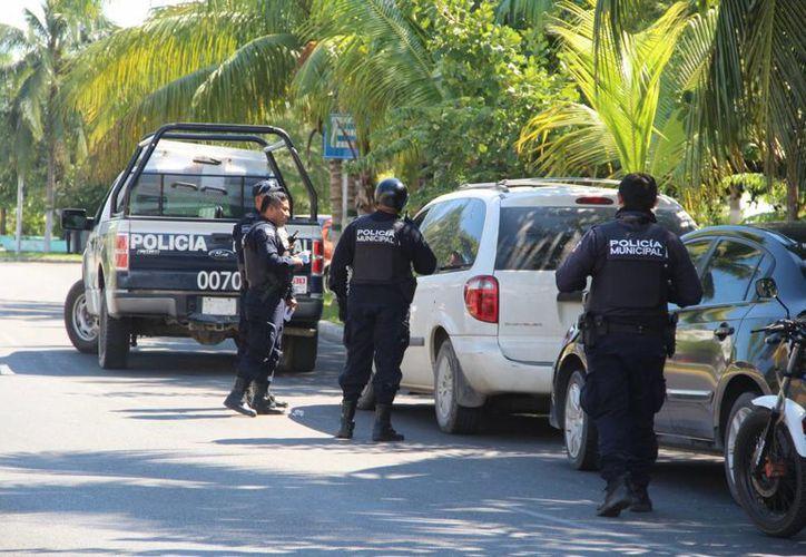 Elementos de la Fiscalía y de la Policía de Solidaridad, encabezan las quejas ante Derechos Humanos.  (Eddy Bonilla/SIPSE)