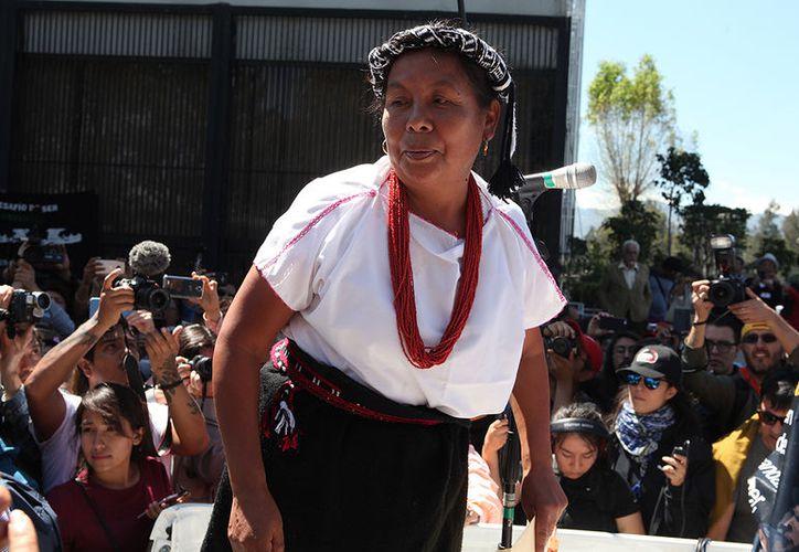 El ataque contra la caravana de Marichuy ocurrió entre Tepalcatepec y Buenavista. (Foto: Proceso)